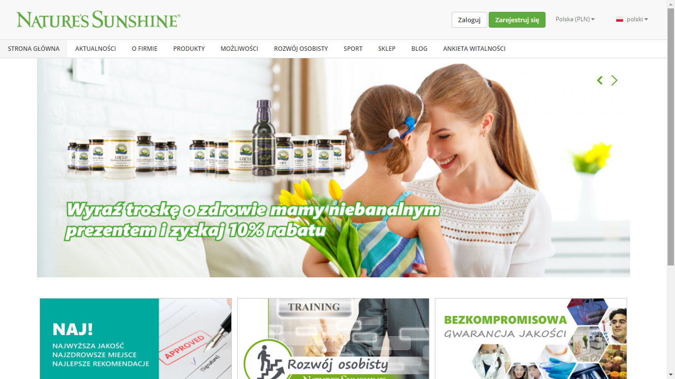 Nature's Sunshine Products Poland – opinie o firmie